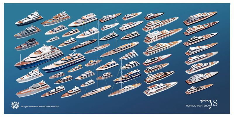 Monaco Yacht Show — бот-шоу 2015