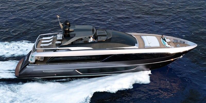 Riva 100′ Corsaro — первая и непревзойденная спортивная яхта