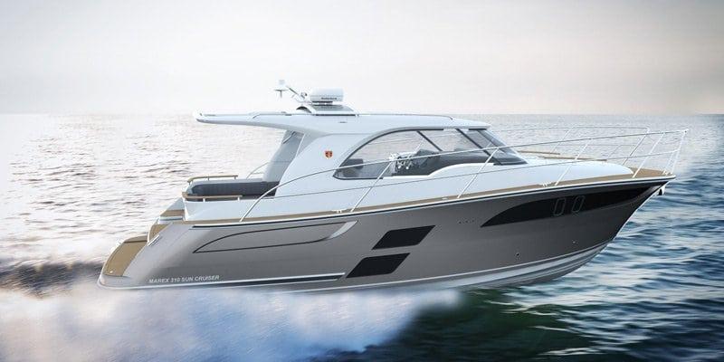 Marex 310 Sun Cruiser — новый круизёр от Marex Boats