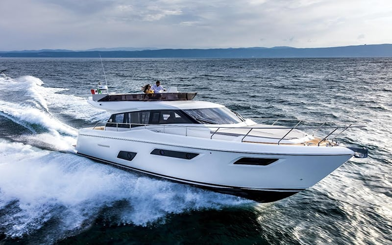 Двойной триумф яхты Ferretti 450