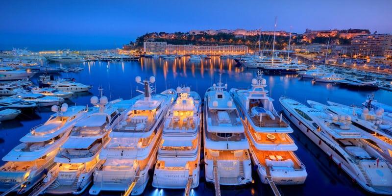 Премьеры суперяхт на яхтенном шоу в Монако