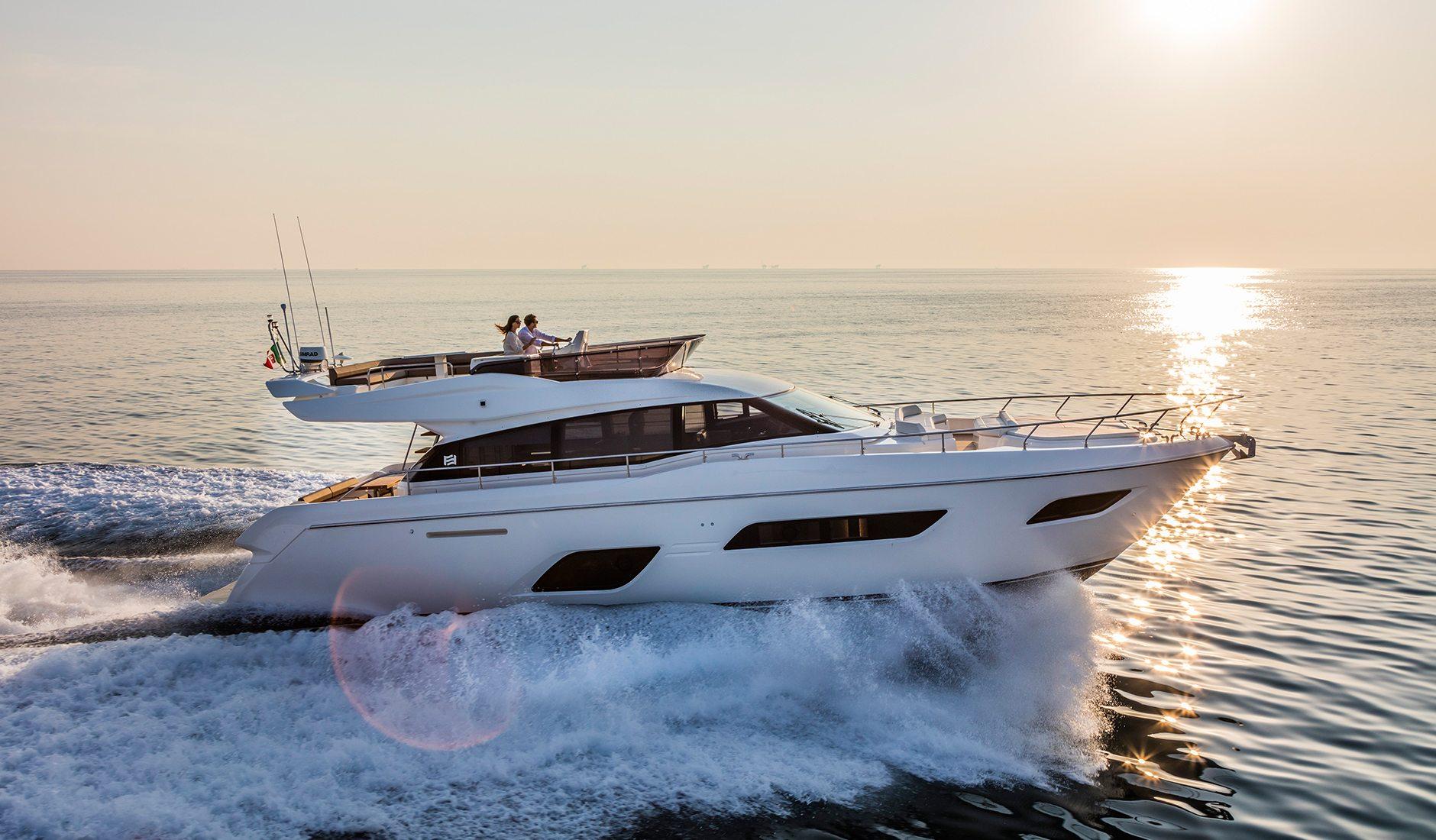 Купить яхту FERRETTI YACHTS 550