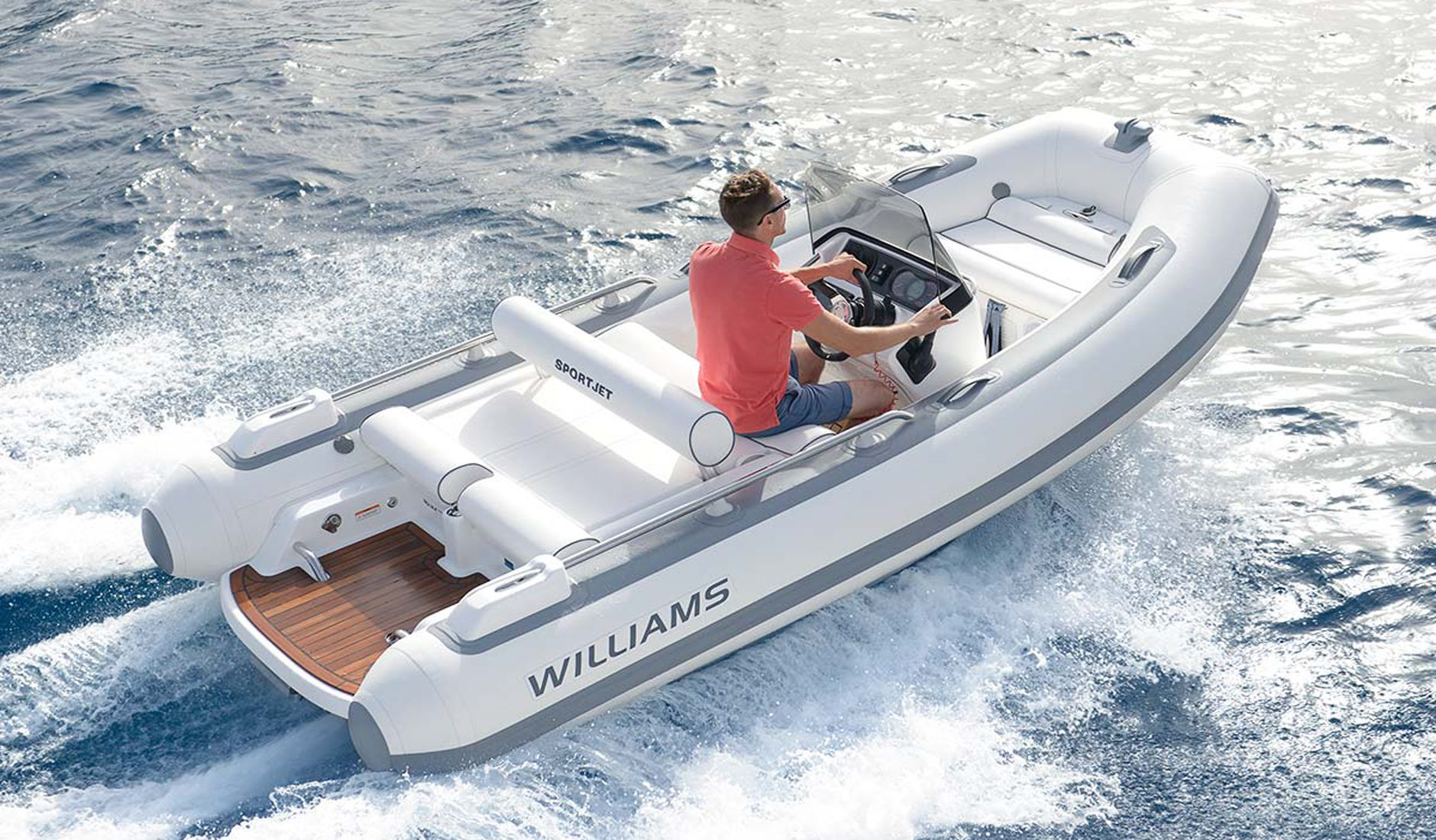 Buy yacht WILLIAMS Tenders Sportjet 520