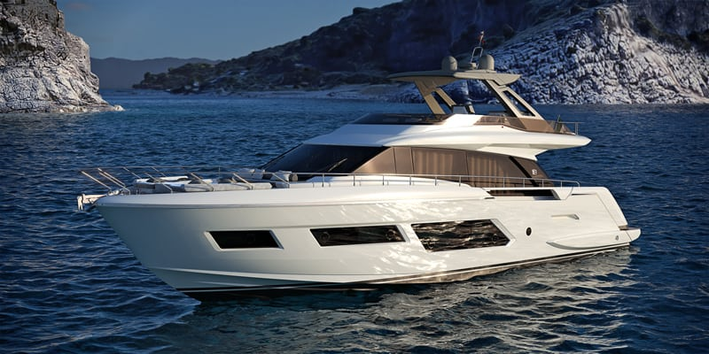 Первая премьера Ferretti Yachts 670
