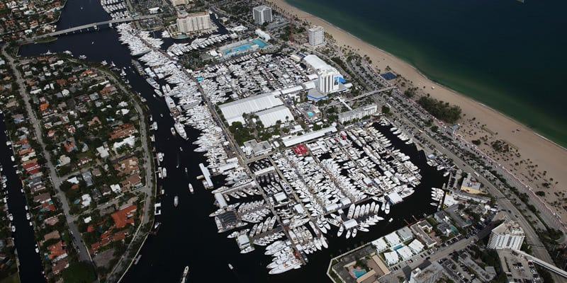 Fort Lauderdale International Boat Show в Форт Лодердейл