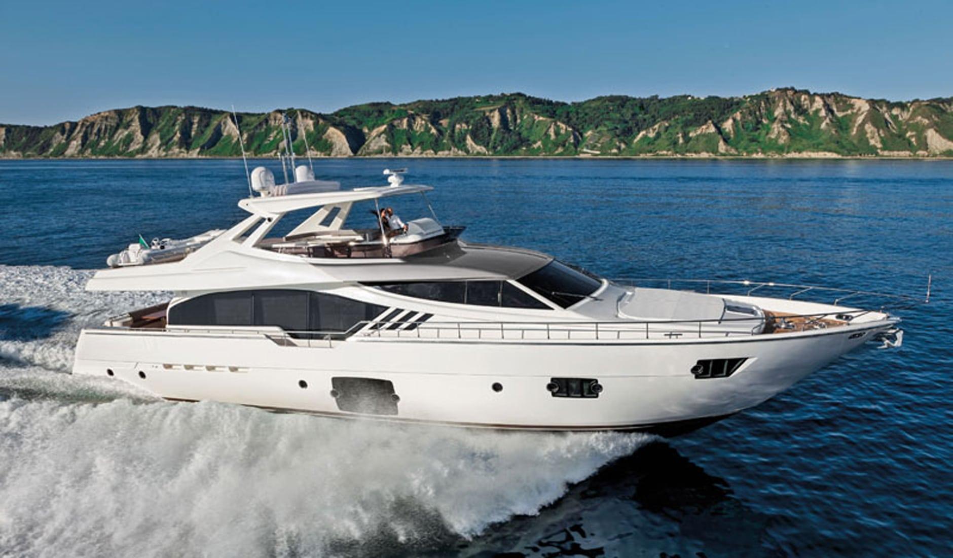 Buy yacht FERRETTI YACHTS 870/2014