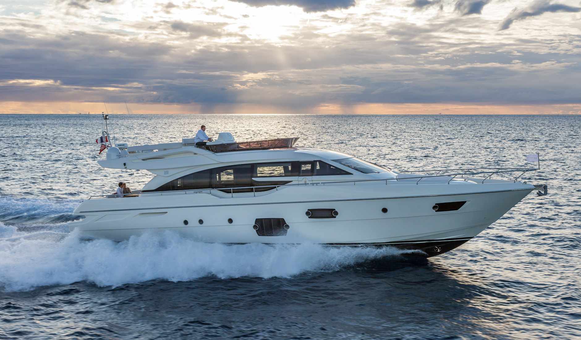Купить яхту FERRETTI YACHTS 690 2013 год