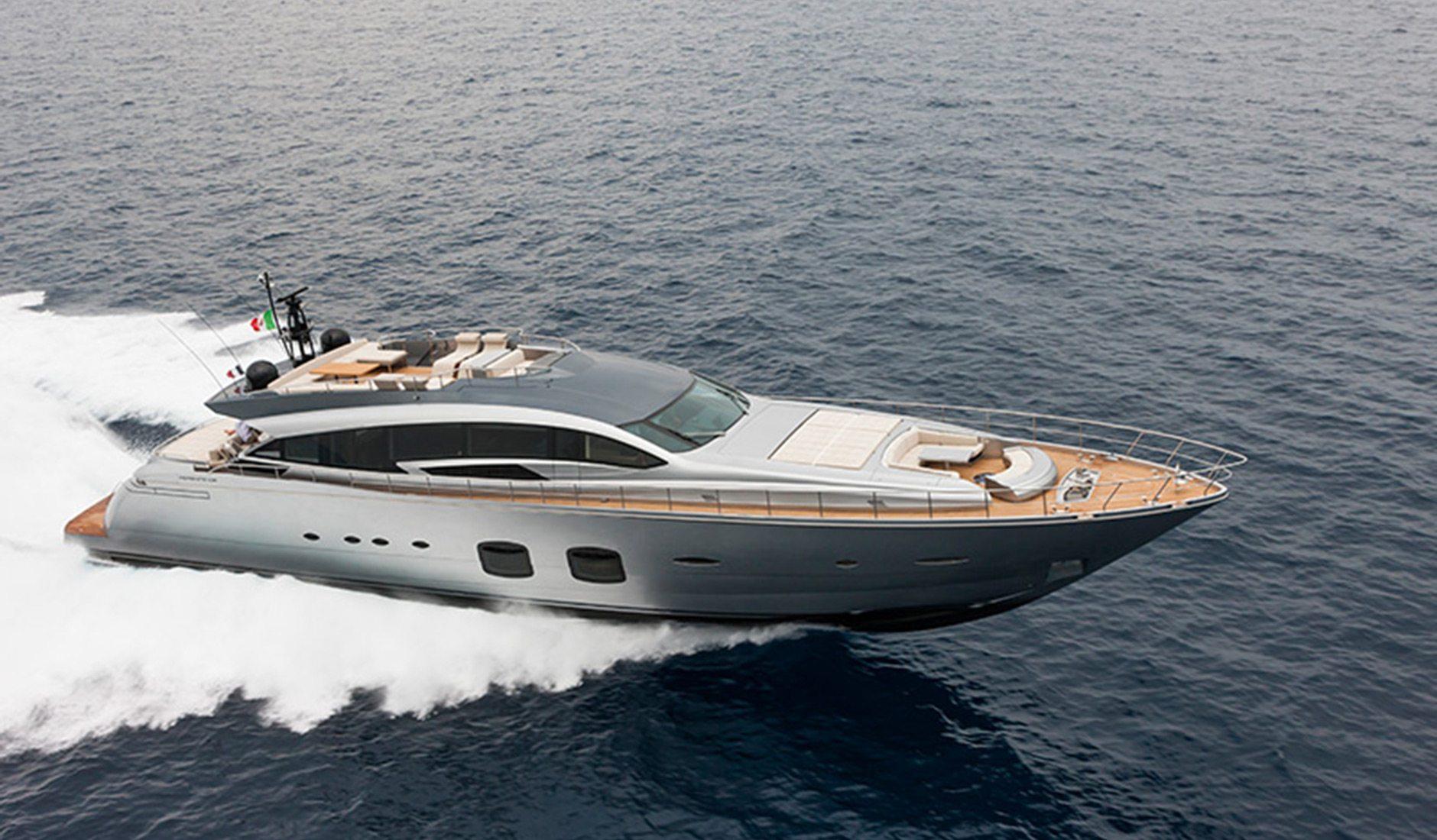 Купить яхту PERSHING 108