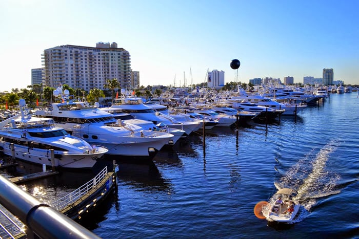 FORT LAUDERDALE BOAT SHOW 2015
