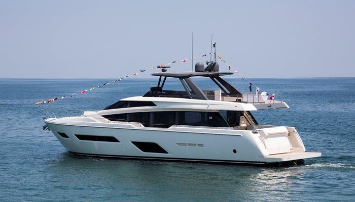 Первая Ferretti Yachts 920 спущена на воду