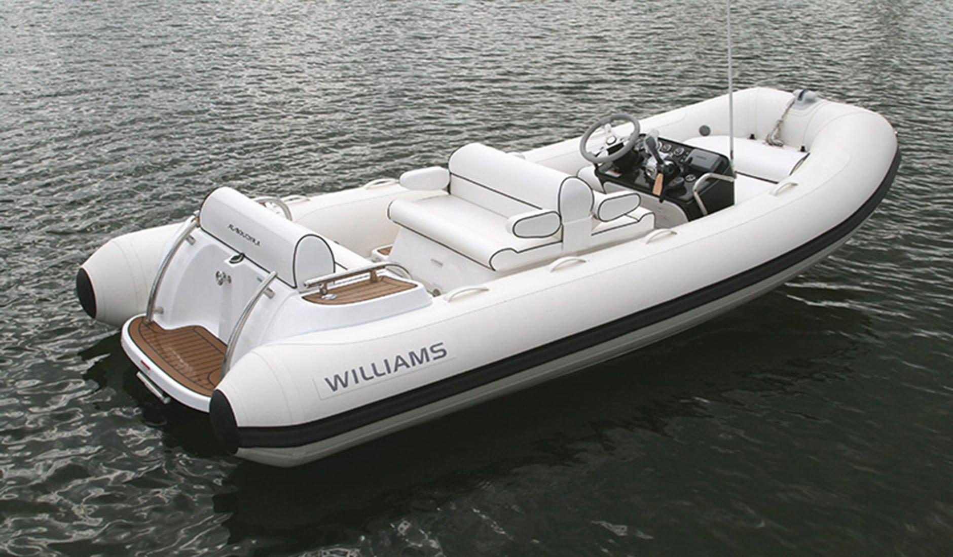 Купить яхту Williams Tenders Dieseljet 445