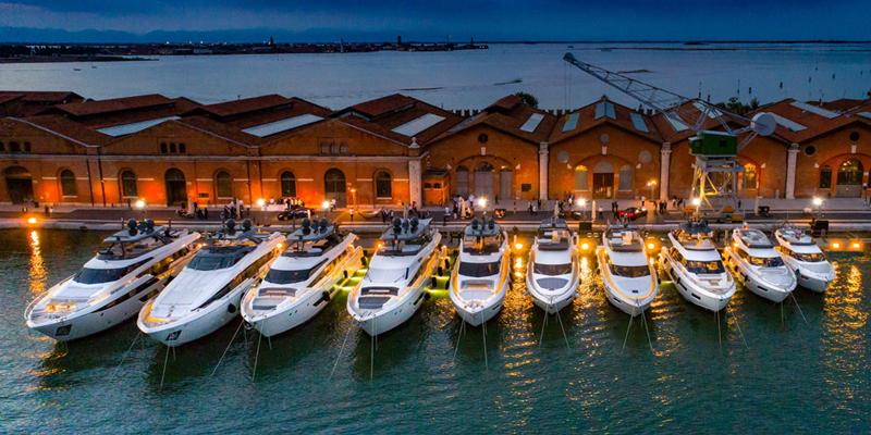 50-ти летний юбилей Ferretti Yachts в Венеции