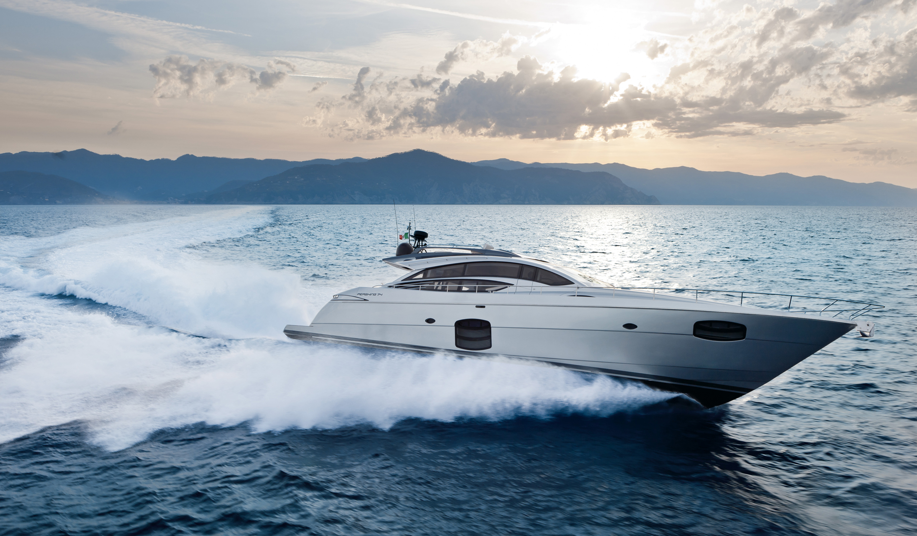 Buy yacht PERSHING 74