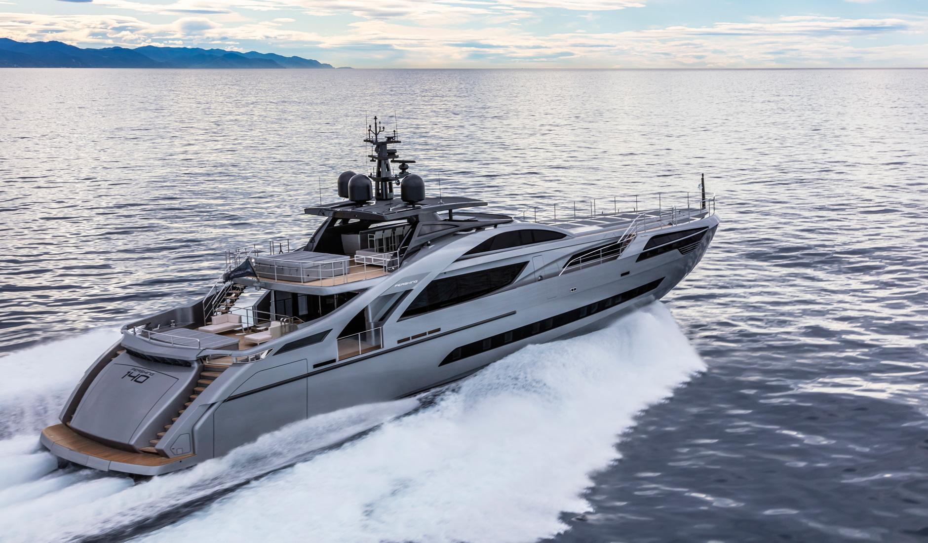 Buy yacht PERSHING 140