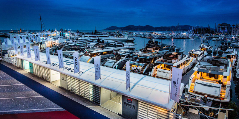 Ferretti Group стала безусловным лидером на Cannes Yachting Festival 2018