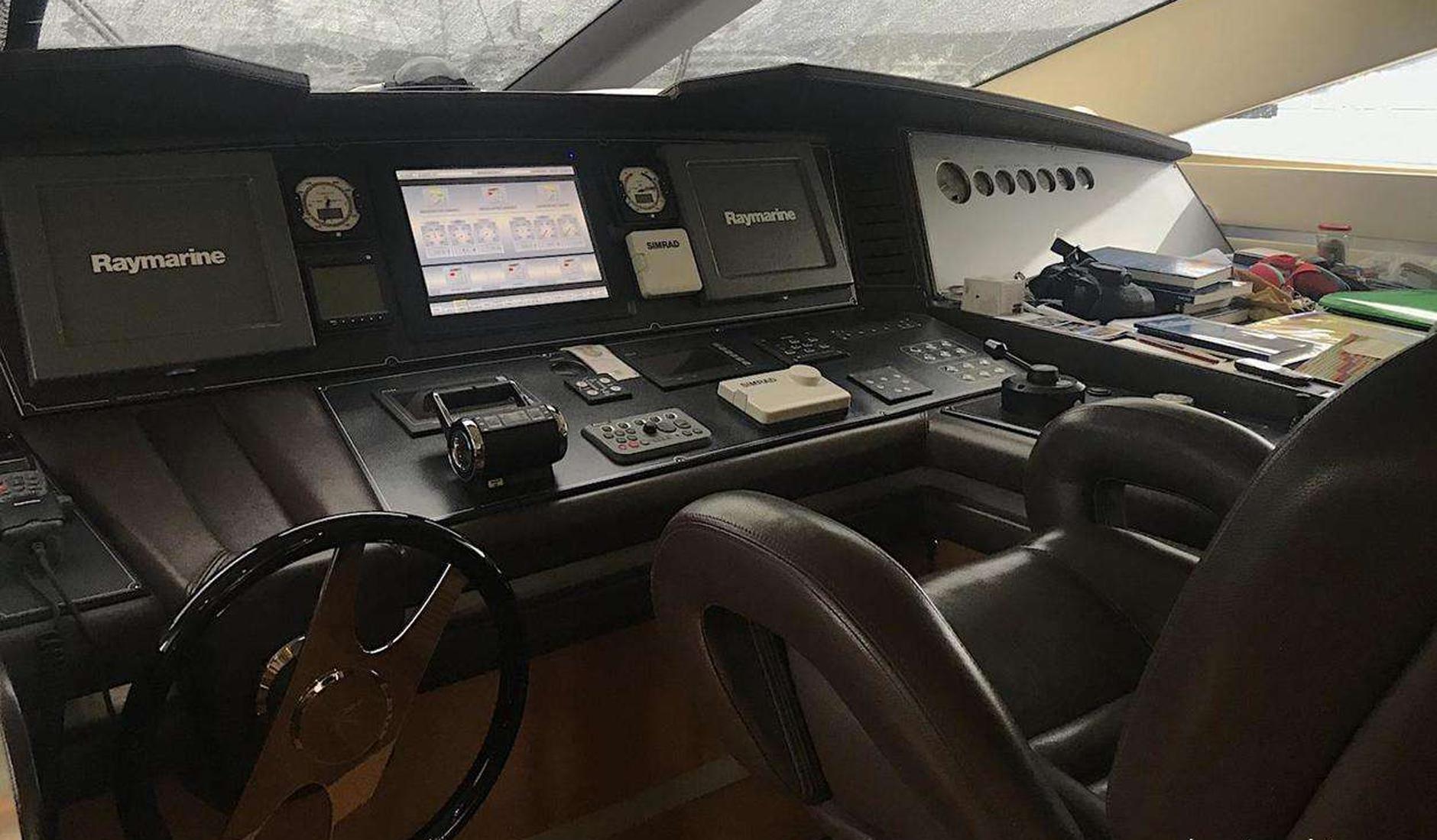 Купить яхту DOMINATOR 780S 2009 год
