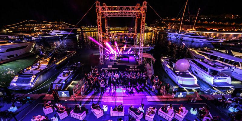 Концерт Элтона Джона в яхт-клубе Монако