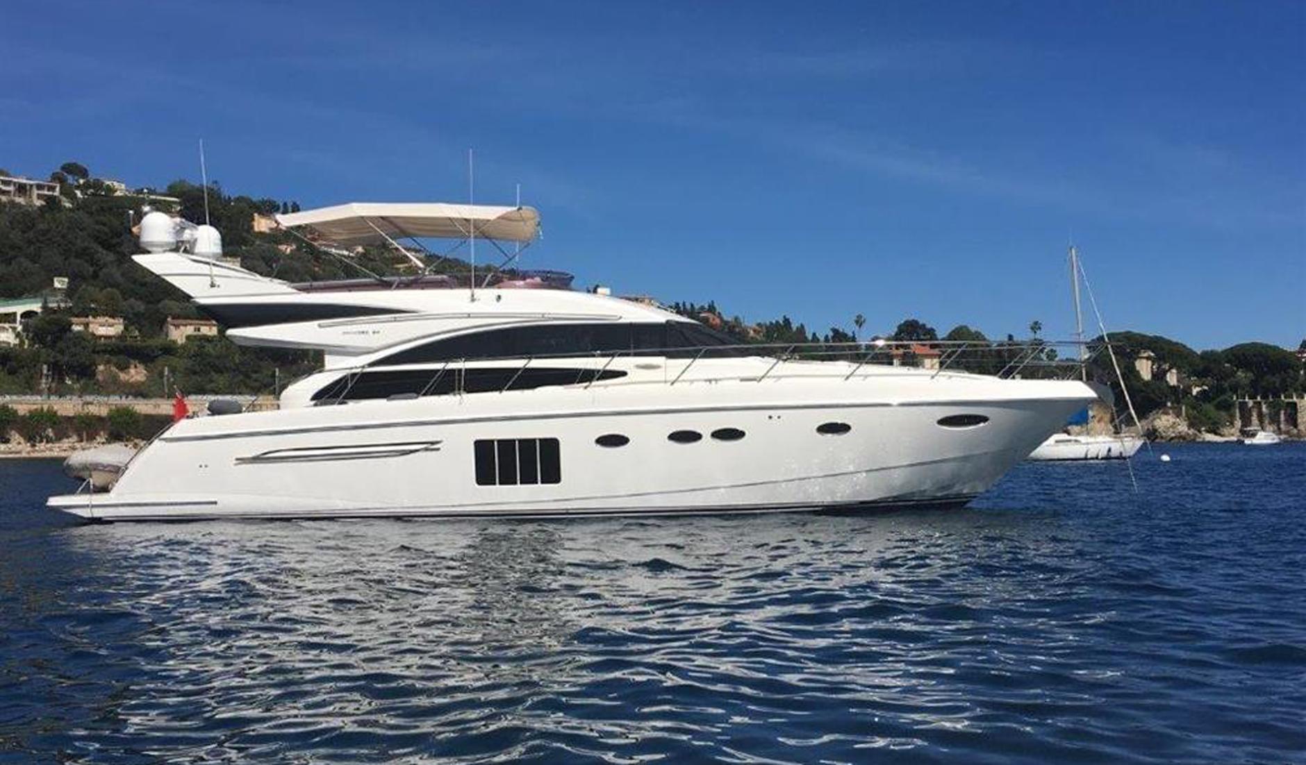 Купить яхту PRINCESS 64 2011 год