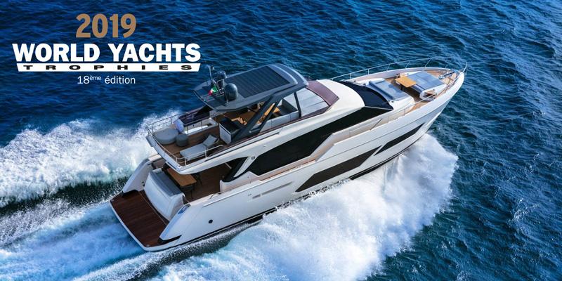 Неопровержимый успех Ferretti Group: 5 наград на World Yachts Trophies 2019