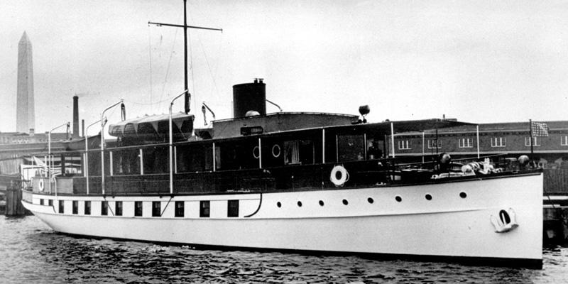 «Звезда Sequoia»: легендарную яхту американских президентов реконструируют