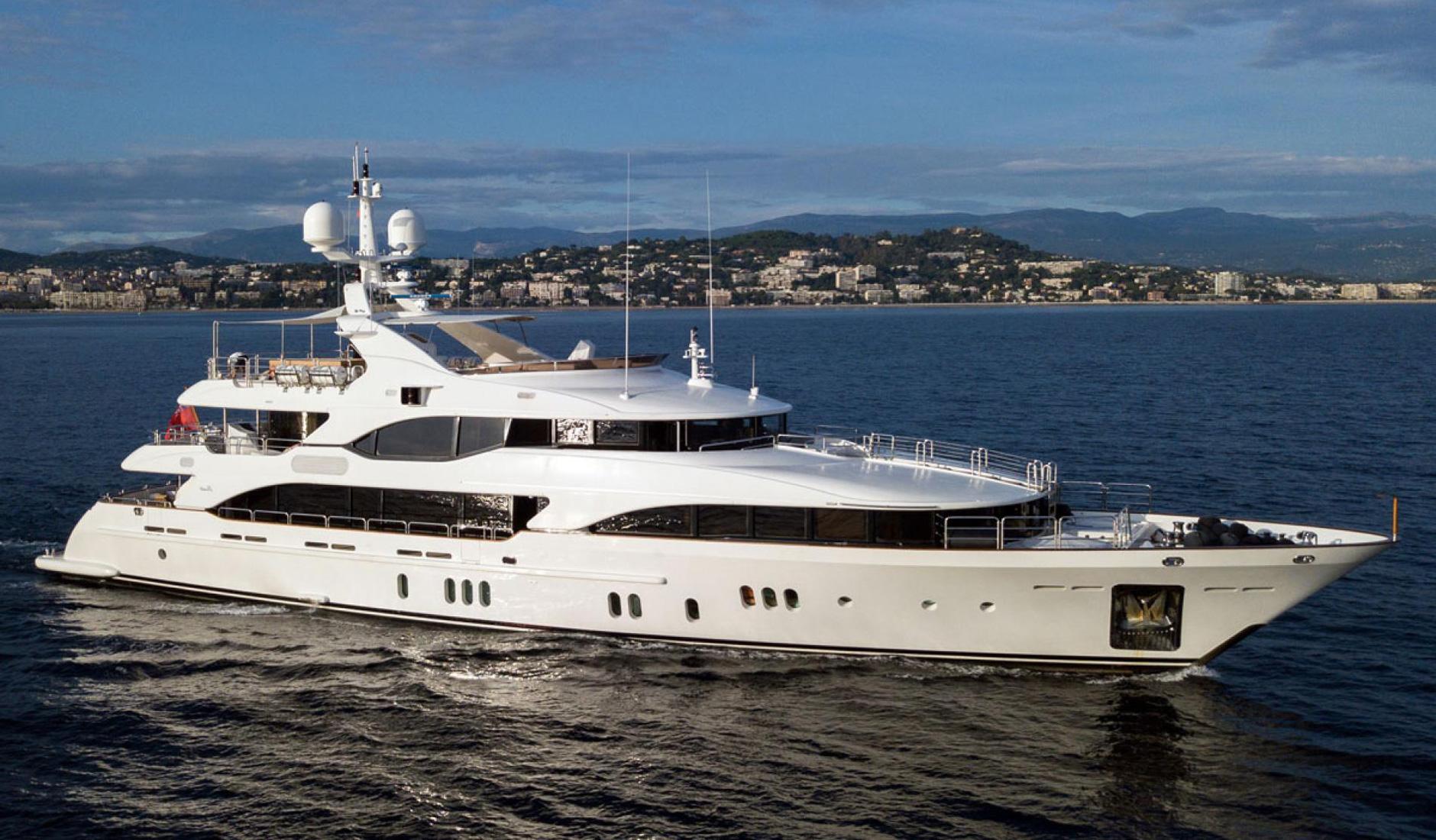 Купить яхту BENETTI 143′