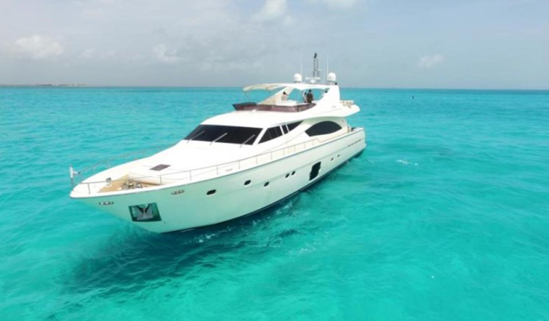 Купить яхту FERRETTI YACHTS 881 2008 год