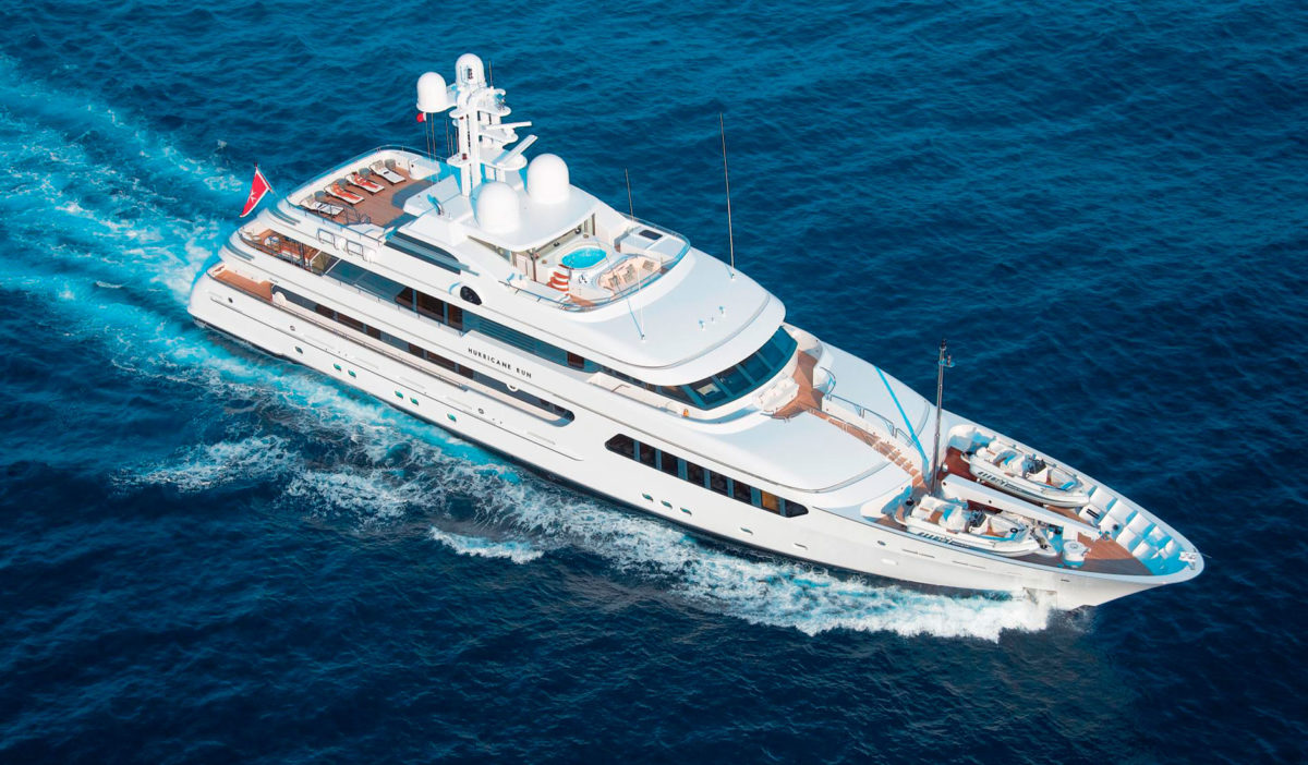 HURRICANE RUN FEADSHIP 175′