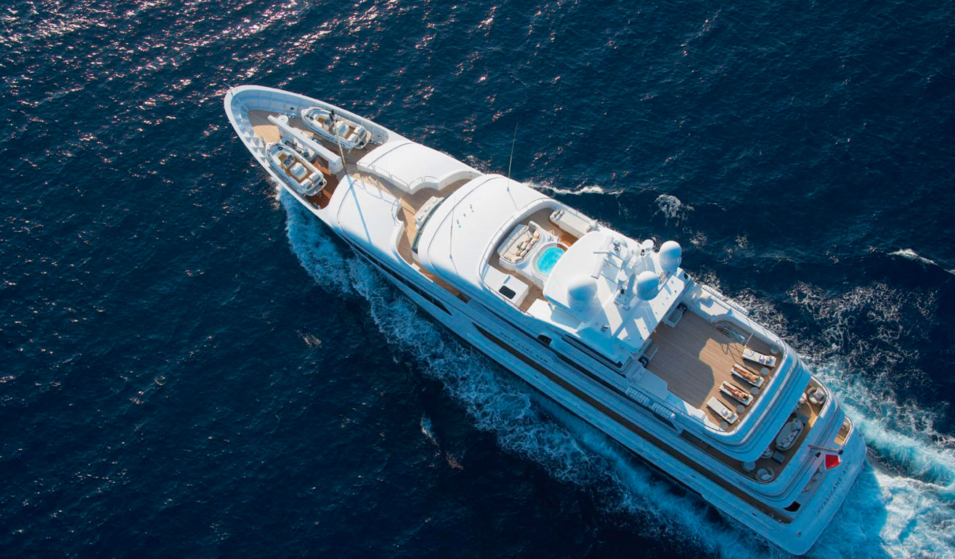 HURRICANE RUN FEADSHIP 175′ Фото  1