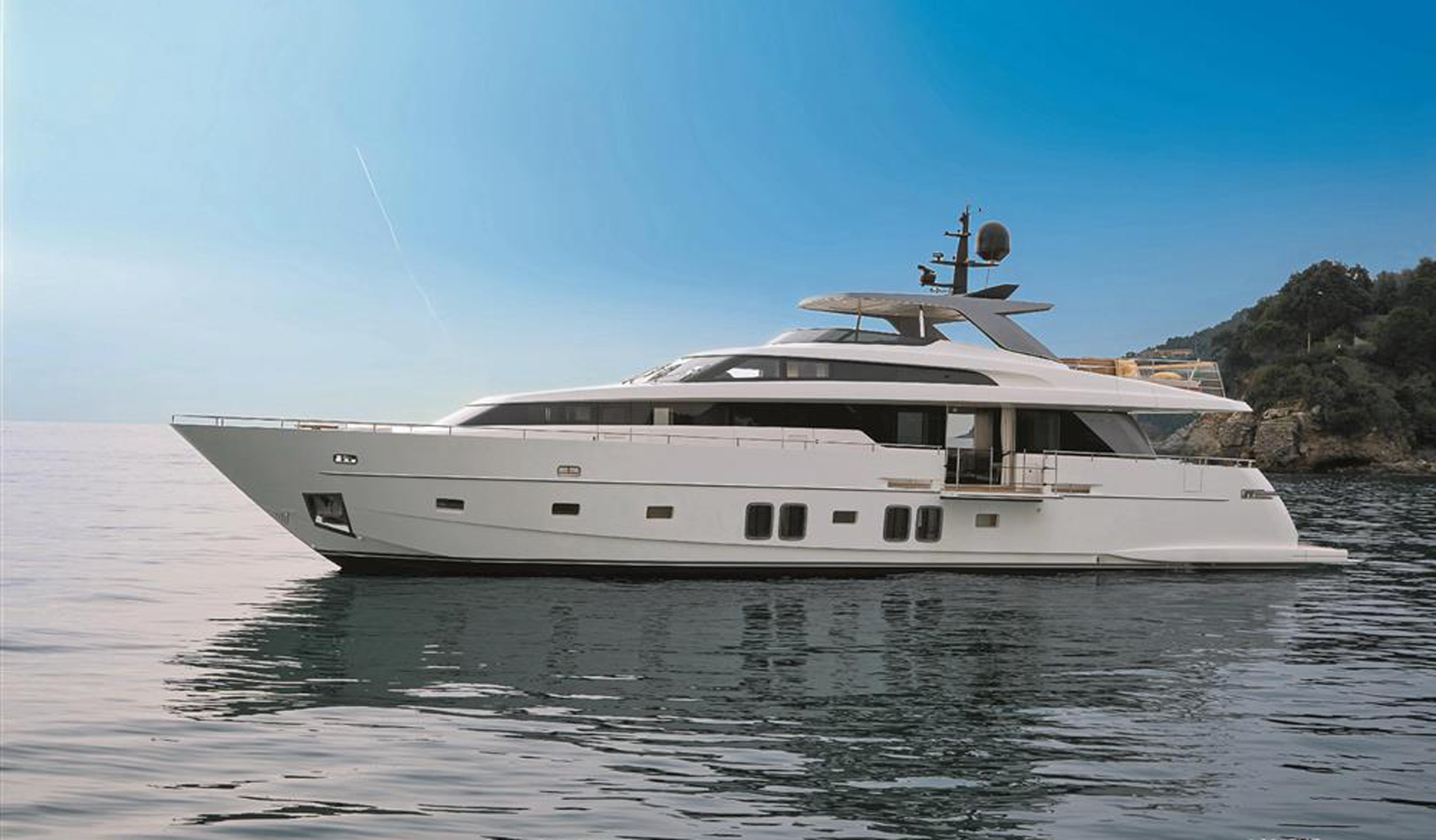 Купить яхту SANLORENZO SL96 2015 год