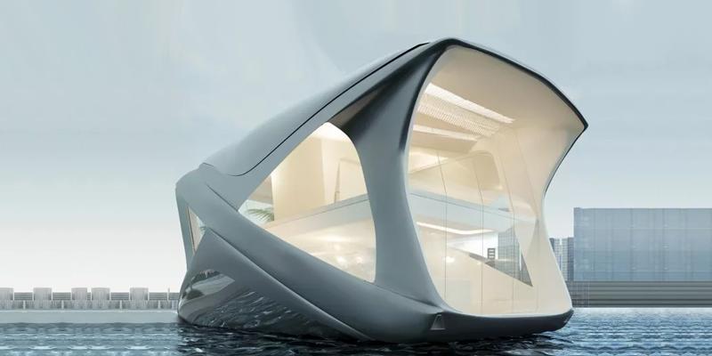 Жизнь на воде: как будут выглядеть хаусботы будущего