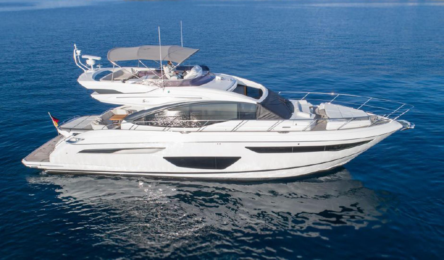 Купить яхту PRINCESS S60 2017 год