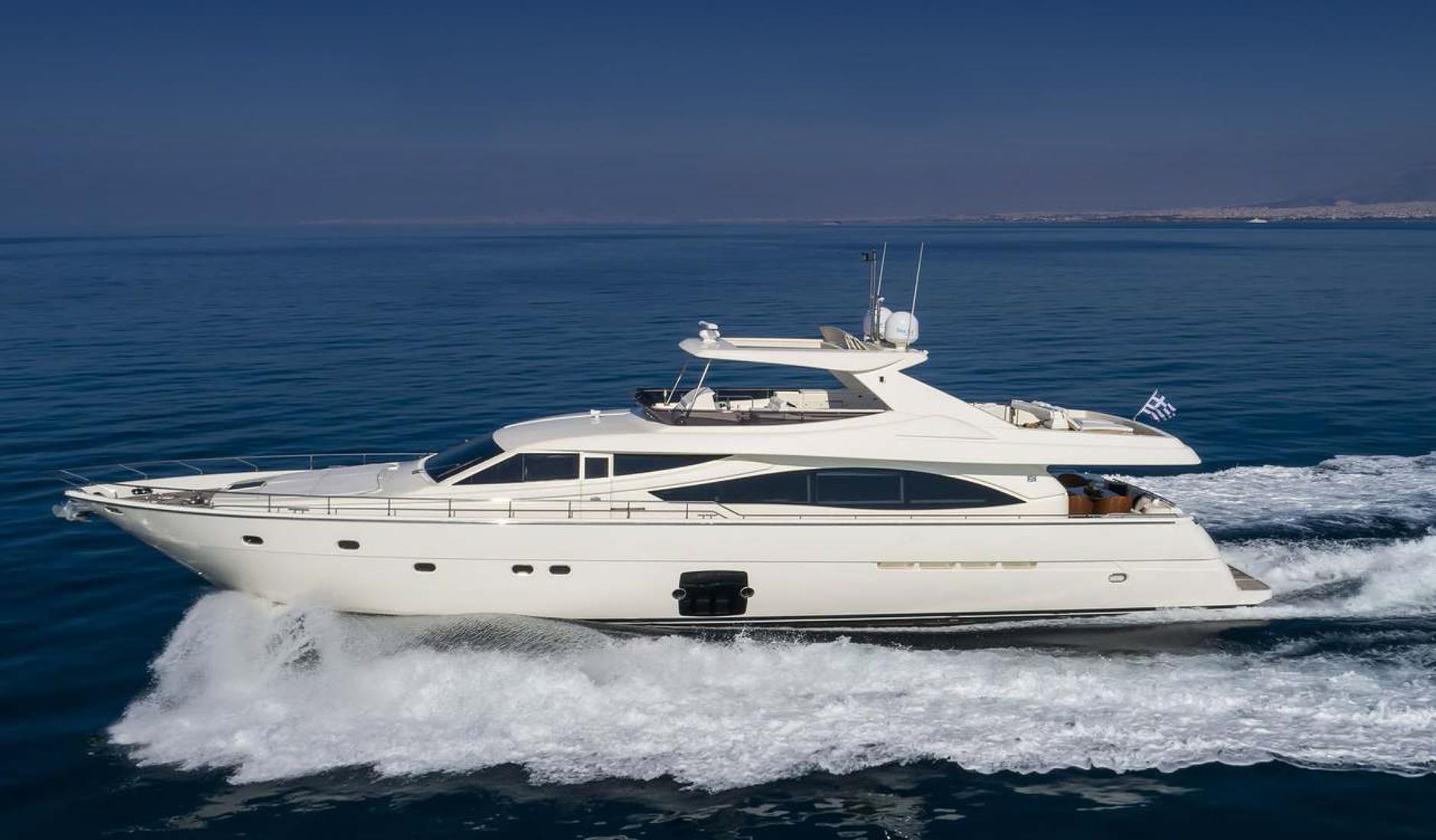 Купить яхту FERRETTI YACHTS 830 2007 год