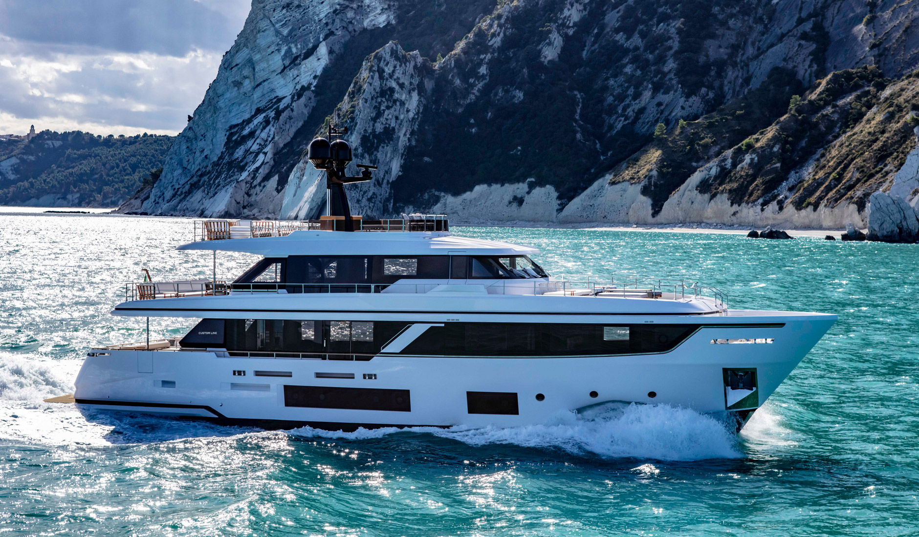 Buy yacht Custom Line Navetta 30 Project