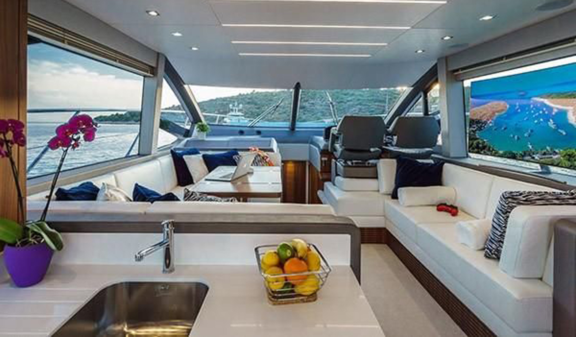 SUNSEEKER MANHATTAN 52 2017 год Фото  5
