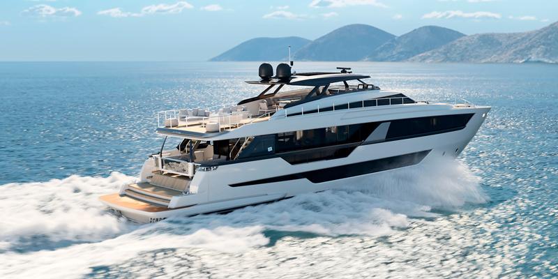 Ferretti Yachts 1000. Еще больше комфорта