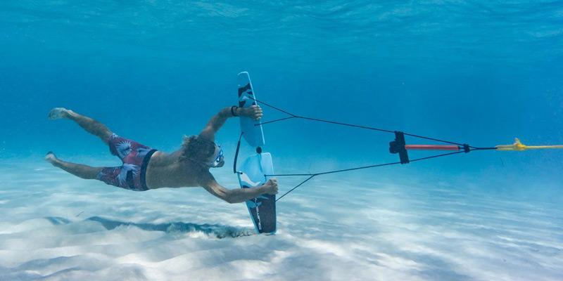 Полет под водой? Буксируемое крыло Subwing