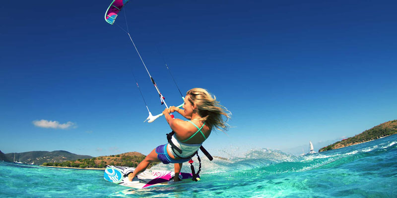 Попутного вітру: 6 кращих напрямків для кайтсерфінгу