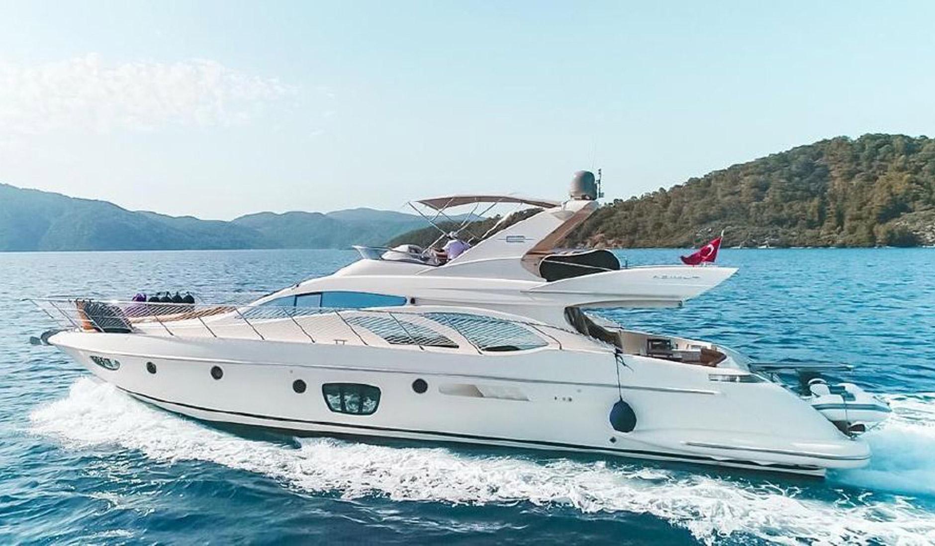 Купить яхту AZIMUT 62 2011 год