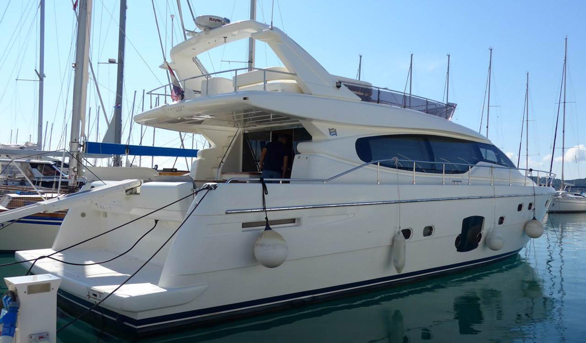 Купить яхту FERRETTI YACHTS 630 2008 год