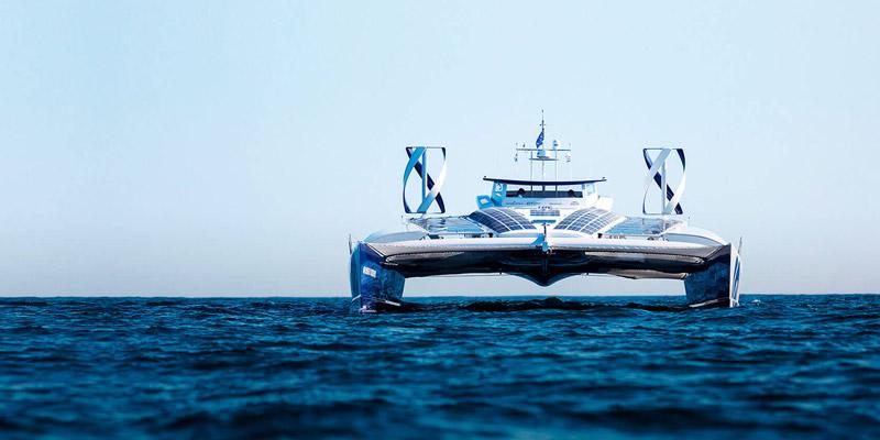 Не дизелем единым: первые водородные яхты