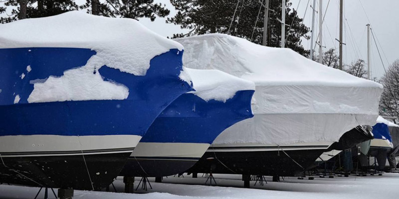 Winter is coming: how to prepare your boat for storage during the cold season