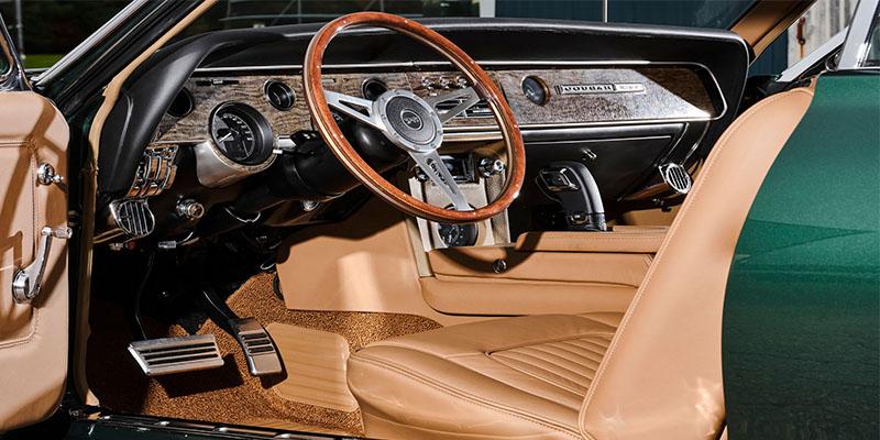 Кастомізований Mercury Cougar 1968