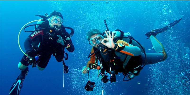 Diver's memo: new diving equipment