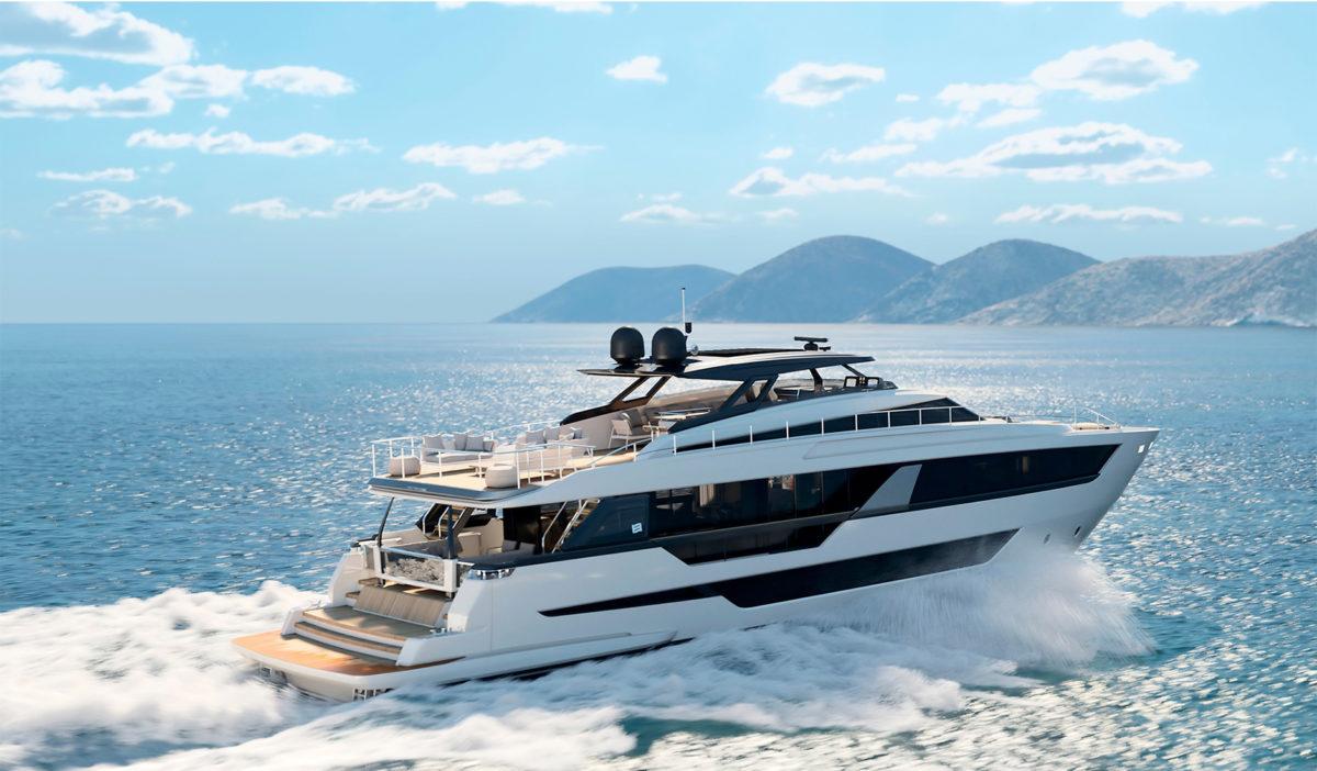 Ferretti Yachts 1000 спустили на воду: флагман верфі Каттоліка