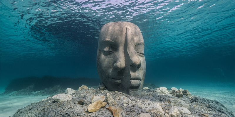 Cannes Underwater Museum and Jason Taylor's Incredible Sculptures