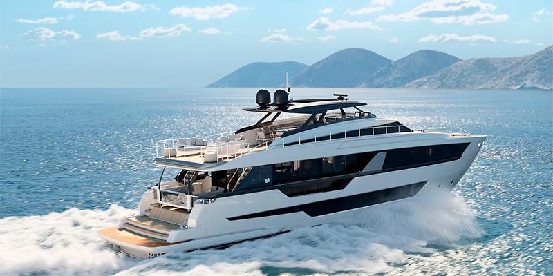 Ferretti Yachts 1000 спустили на воду: флагман верфи Каттолика