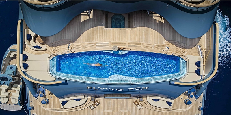 To be or not to be to the pool on a yacht: problems, expectations, reality