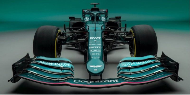 Aston Martin in the new season of Formula 1. 61 years later in British green