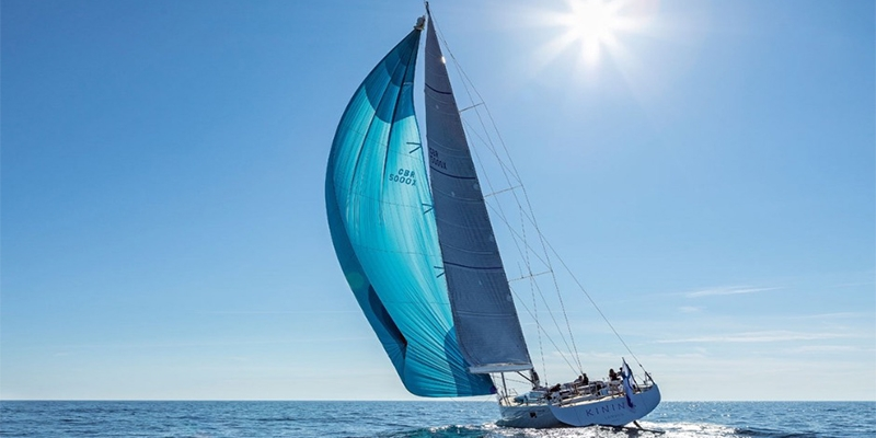 Try the silence. Types of sails and what wind and course they are intended for