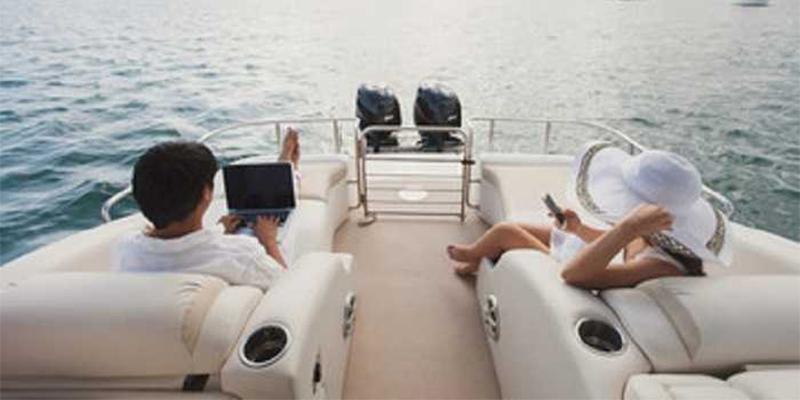 Internet for coastal sailing